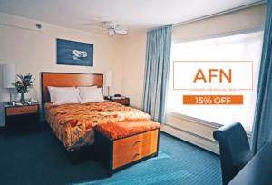 AFN Convention 15% off Puffin Inn