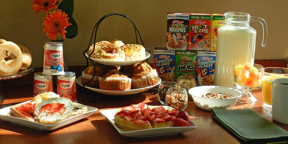 Puffin Inn Services: We provide complimentary continental breakfast to fuel your adventures and complimentary airport shuttle to get you here and back again.