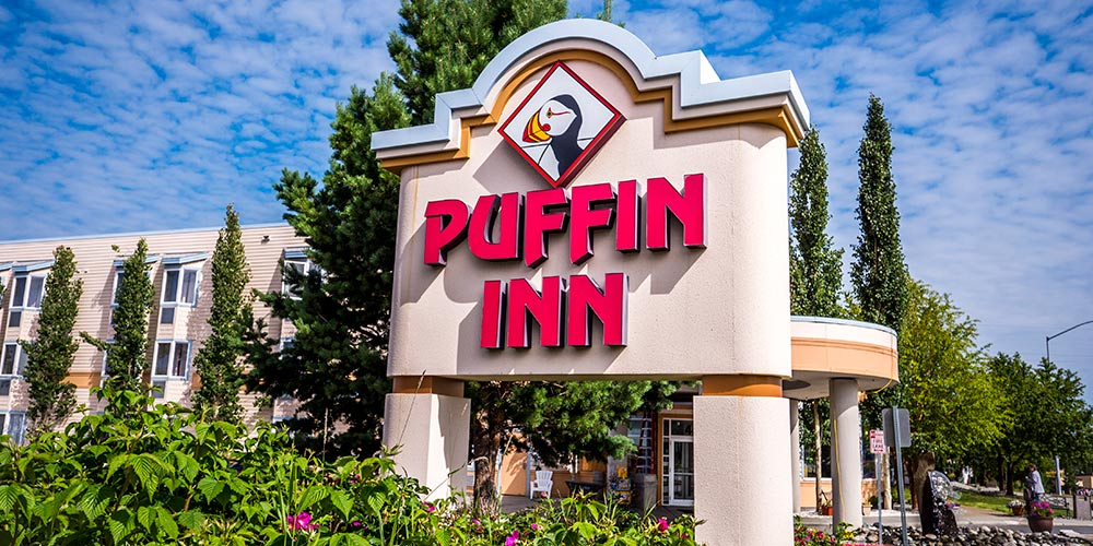 Anchorage hotel Puffin Inn