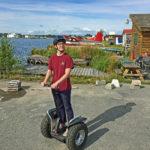 Segway Tours on Lake Hood