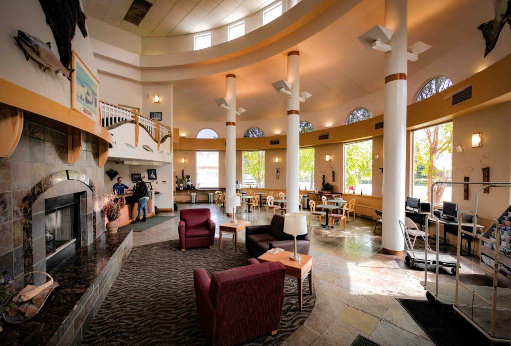 Puffin Inn Of Anchorage Lobby